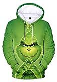 YIMIAO Unisex Christmas Frauen Weihnachten Hoodies Männer 3D Print Cosplay Kostüm Pullover Langarm...