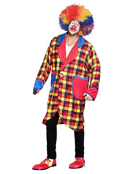 Faschingskostüm Herren Clown