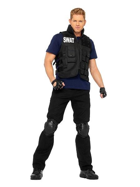 Karnevalskostüm Faschingskostüm Herren Polizei