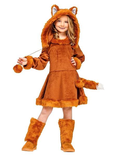 Karnevalskostüm Kinder Fuchs Mädchen Kinderkostüm