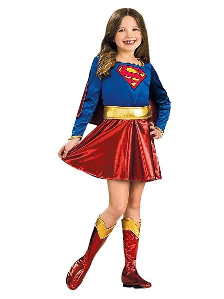 Kinderkostüm Fasching Karneval Mädchen Supergirl