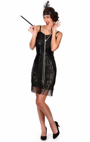 20er Jahre Charleston Kleid & Kostüm für Damen günstig kaufen