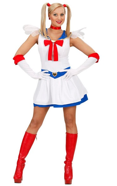 Anime Manga Kostüm Damen Frauen Sailor Moon