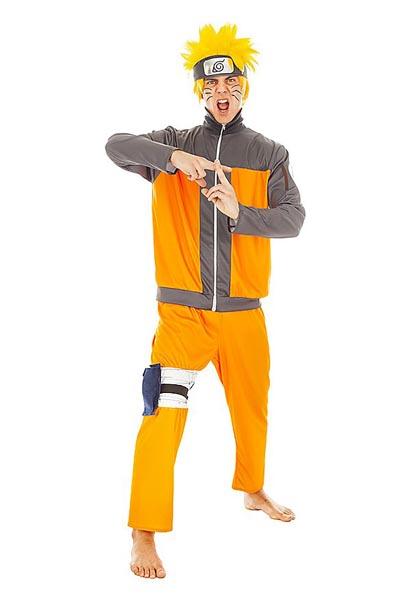 Anime Manga Kostüm Herren Naruto