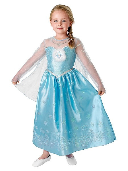 Elsa Kostum Kleid Fur Kinder Damen Gunstig Kaufen