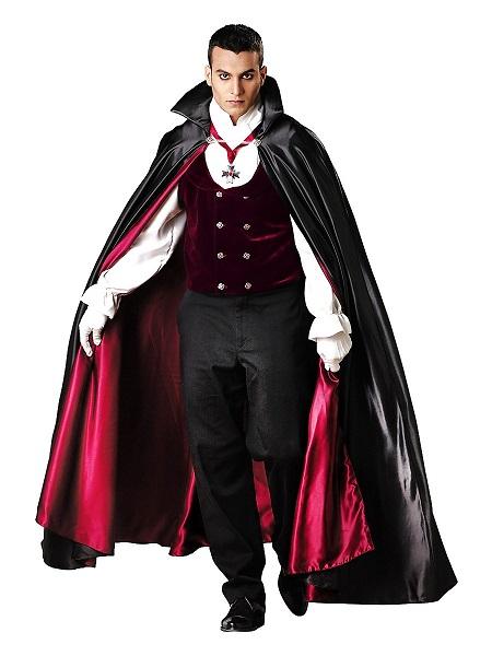 Halloween Kostüm Herren Vampir Graf Dracula