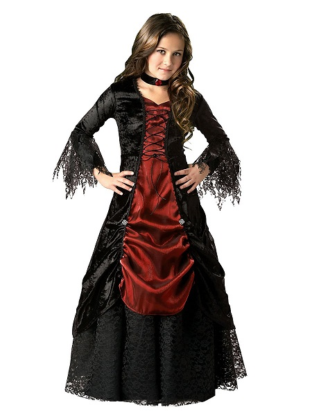 Halloween Kostüm Kinder Vampirin
