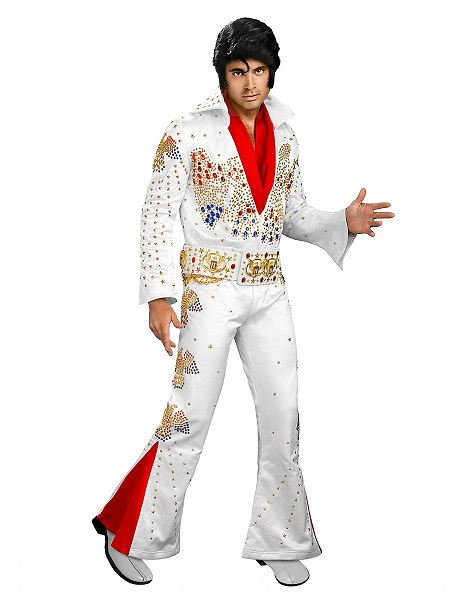 Hollywood Kostüm Herren Männer Elvis