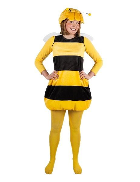 Kindheitshelden Kostüm Biene Maja Damen