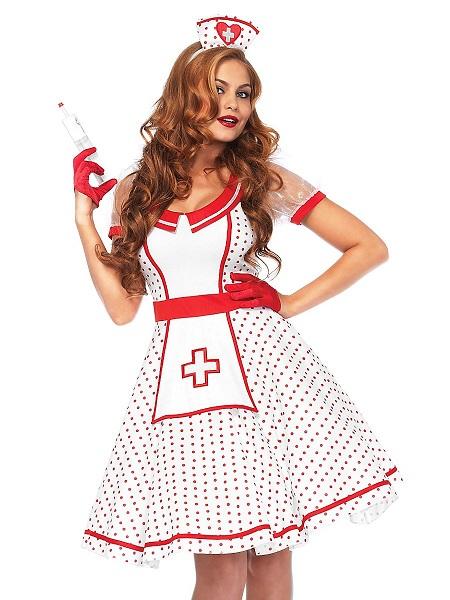 Sexy Krankenschwester Kostüm Damen