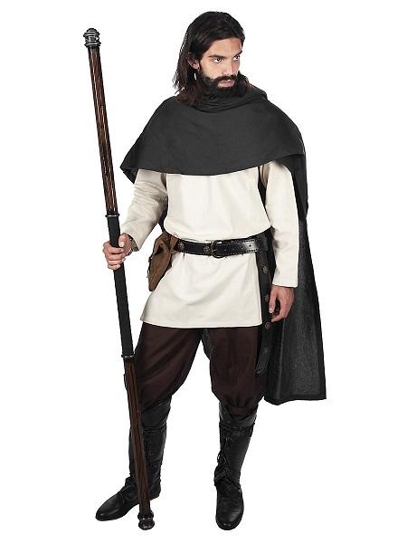Mittelalter Kostüm Herren Mantel Umhang