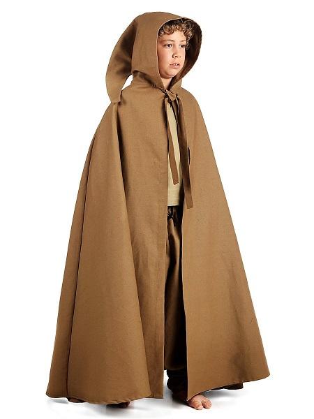 Mittelalter Kostüm Kinder Umhang Kutte Mantel