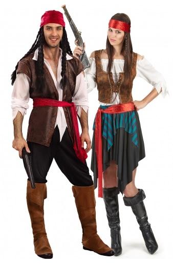 Partnerkostüm Paarkostüm Pärchenkostüm Pirat