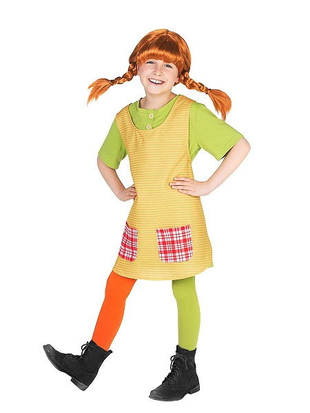 Pippi Langstrumpf Kostüm Kinder Mädchen