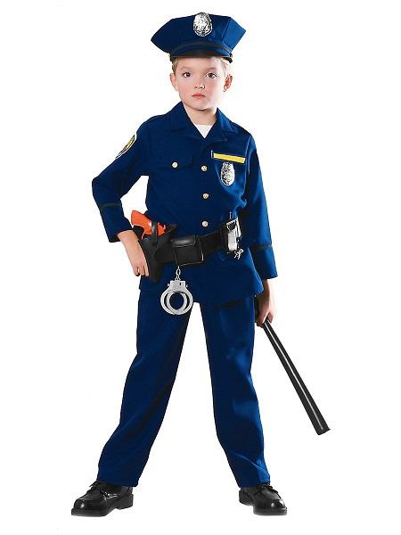 Polizei Kostüm Kinder Polizist Jungen