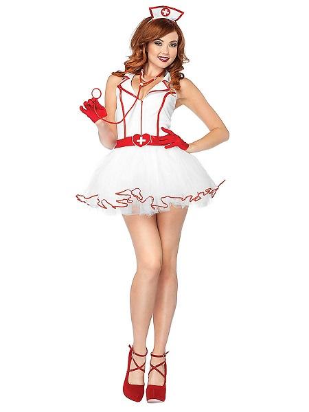 Sexy Kostüm Damen Krankenschwester