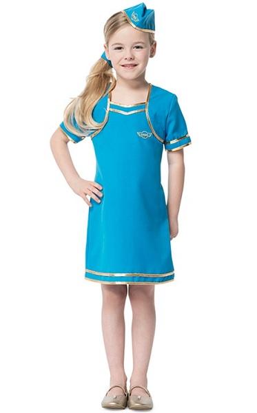 Stewardess Kostüm Kinder Mädchen