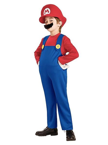 Super Mario Kostüm Kinder Jungen