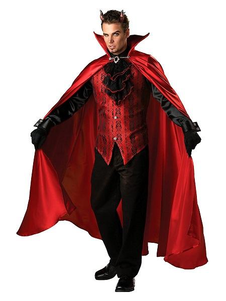 Teufel Kostüm Herren Männer Erwachsene