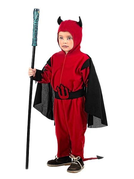 Teufel Kostüm Kinder Jungen Mädchen