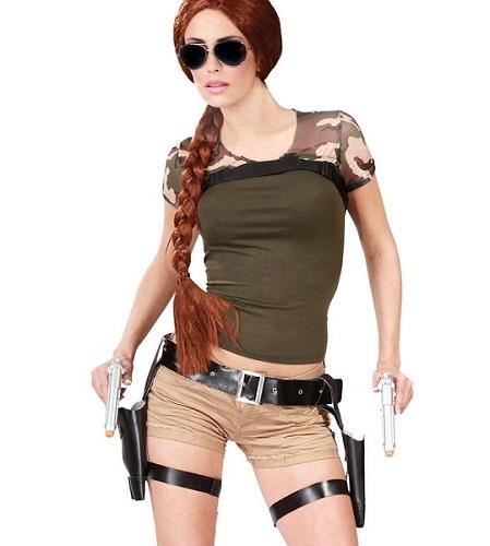 Tomb Raider Lara Croft Kostüm