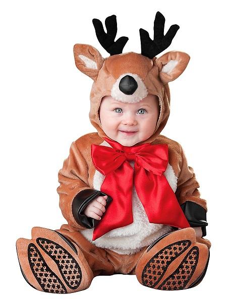 Weihnachtskostüm Baby Rentier
