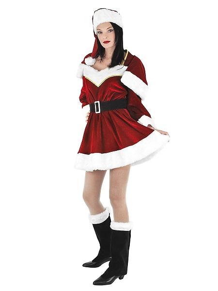 Weihnachtskostüm Damen Weihnachtsfrau