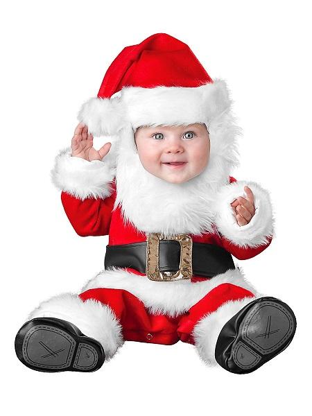 Nikolaus Weihnachtsmann Kostüm Baby