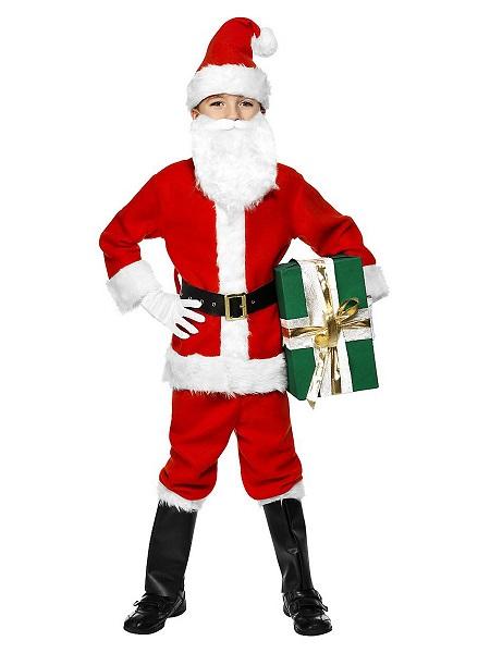 Nikolaus Weihnachtsmann Kostüm Kinder