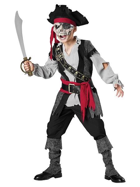 Zombie Kostüm Kinder Pirat Jungen