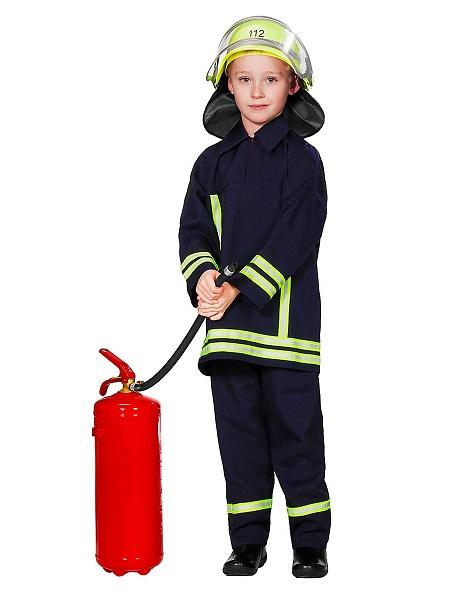 Feuerwehr Kostüm Feuerwehrmann Kostüm Kinder Jungen Mädchen