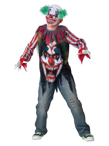 Horrorclown Kostüm Kinder Jungen