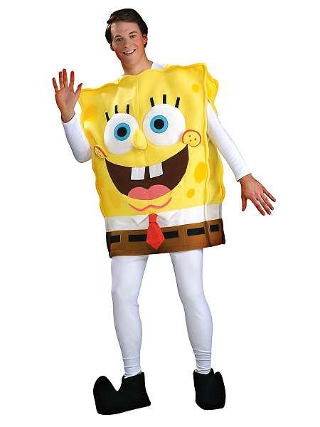 Spongebob Kostüm Herren Männer Erwachsene