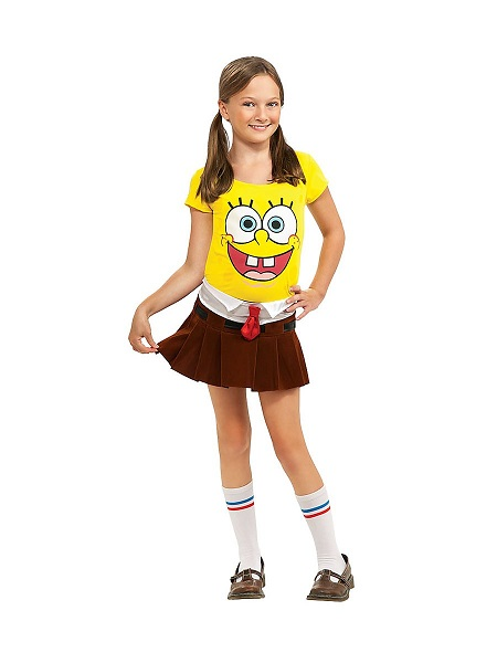 Spongebob Kostüm Kinder Mädchen