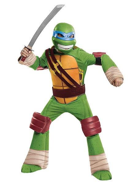 Teenage Mutant Ninja Turtles Kostüm Kinder Jungen Mädchen Leonardo