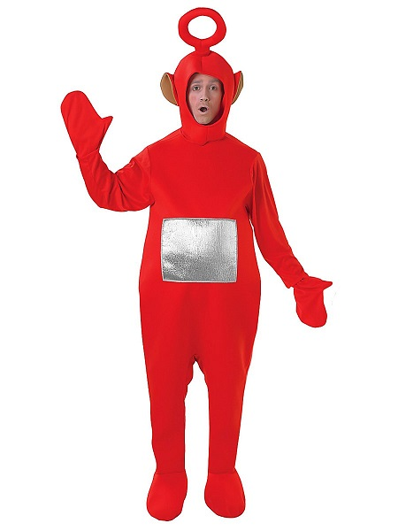 Teletubbies Kostüm Po rot