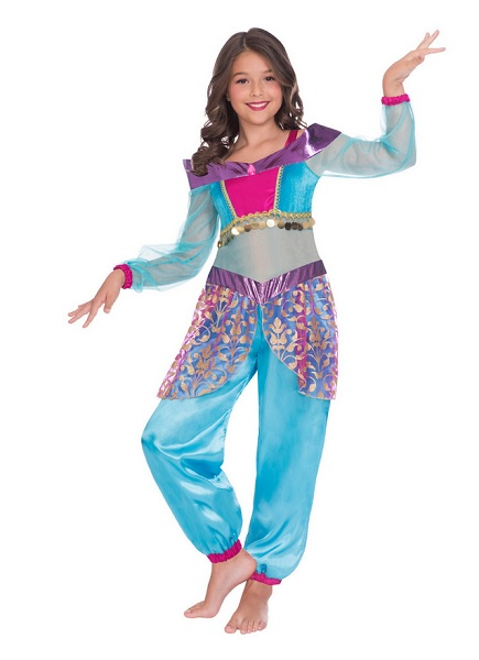 Bauchtanz Kostüm Kinder Mädchen Bauchtänzerin Kostüm
