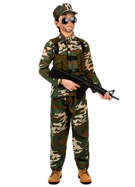Bundeswehr Kostüm Soldaten Kostüm Kinder Jungen