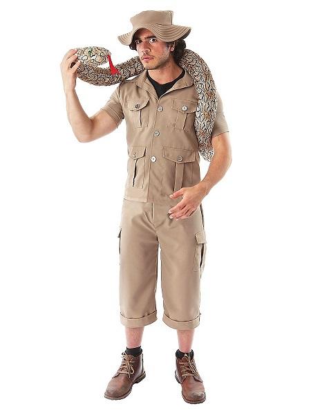 Dschungel Safari Kostüm Herren Männer Erwachsene