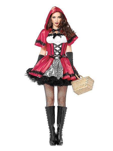 Fasnachtskostüm Damen Fasnet Kostüm Frauen Rotkäppchen