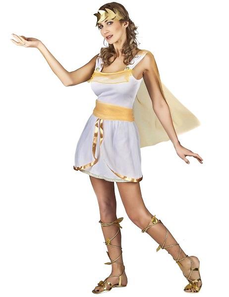 Griechische Göttin Kostüm Damen Frauen Erwachsene