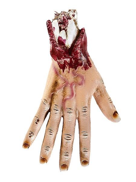 Halloween Deko Hand blutig