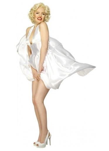 Hollywood Mottoparty Ideen Marilyn Monroe Kostüm