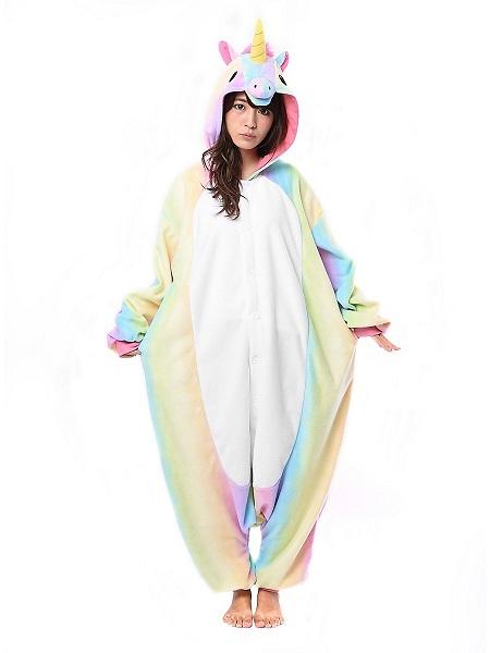 Kigurumi Kostüm Einhorn Damen Frauen Erwachsene