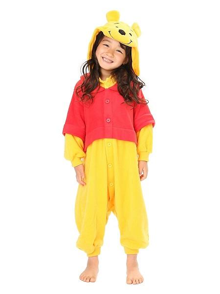 Kigurumi Kostüm Winnie Pooh Kinder Mädchen