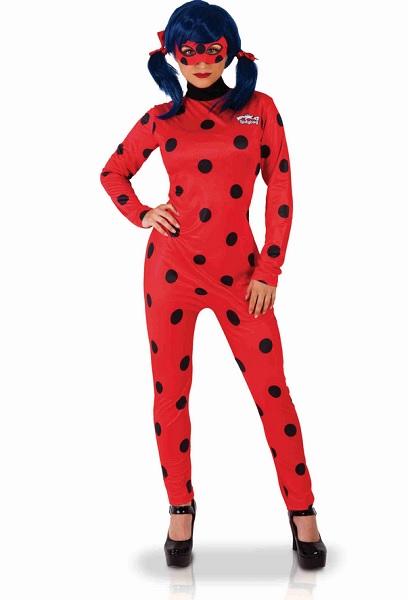 Miraculous Ladybug Kostüm Damen Frauen Erwachsene