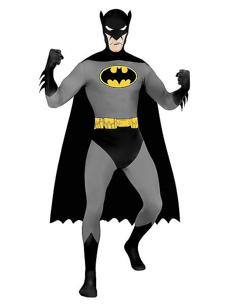 Morphsuit Batman Ganzkörperanzug Ganzkörperkostüm