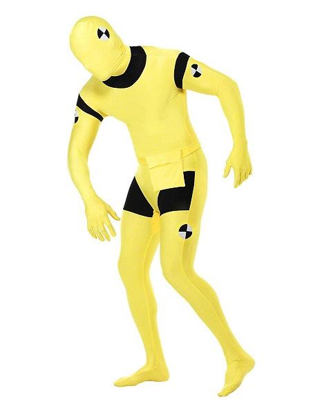 Morphsuit Ganzkörperanzug Ganzkörperkostüm Crash Test Dummy