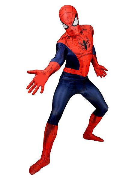 Morphsuit Spiderman Ganzkörperanzug Ganzkörperkostüm