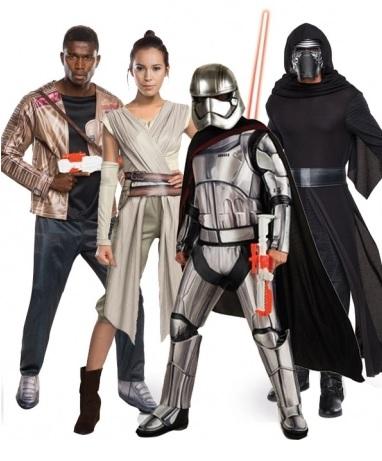 Mottoparty Ideen Star Wars Kostüme